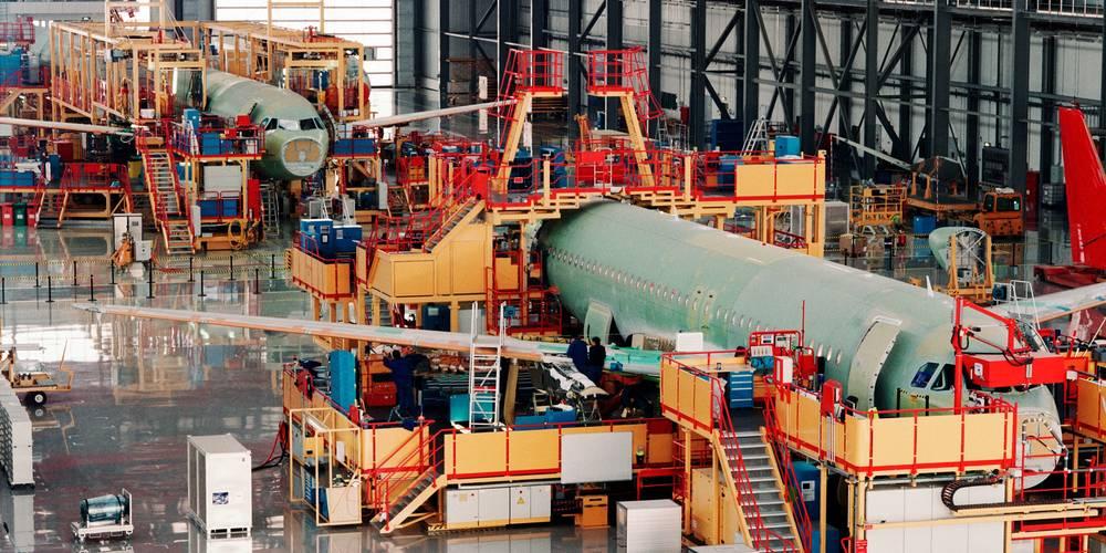 Aktien zu Flugzeugbau