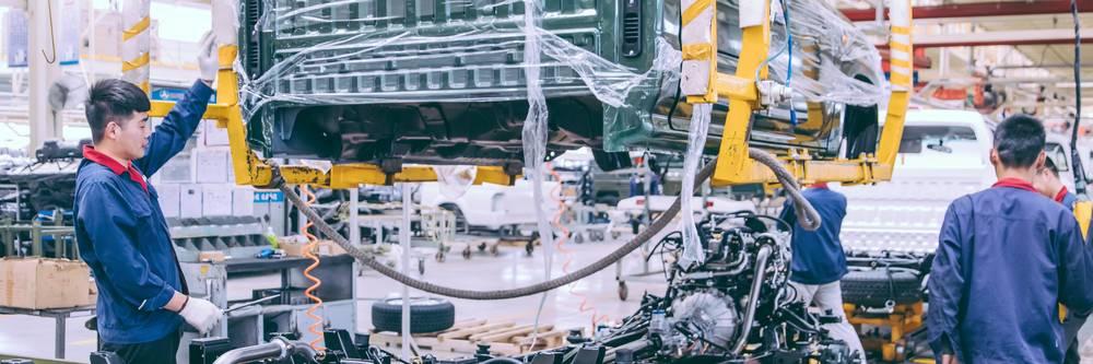 Analyse zu Autohersteller China