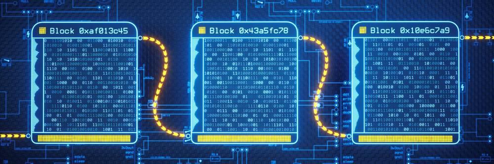 Aktien zu Blockchain