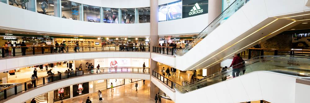 Aktien zu Shoppingcenter