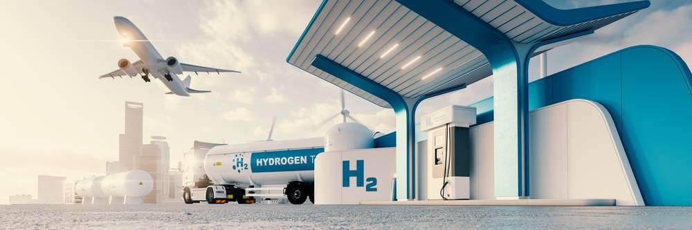 Aktien zu Wasserstoff Flugzeuge